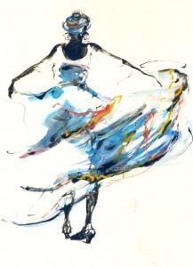 dansende bewegingen